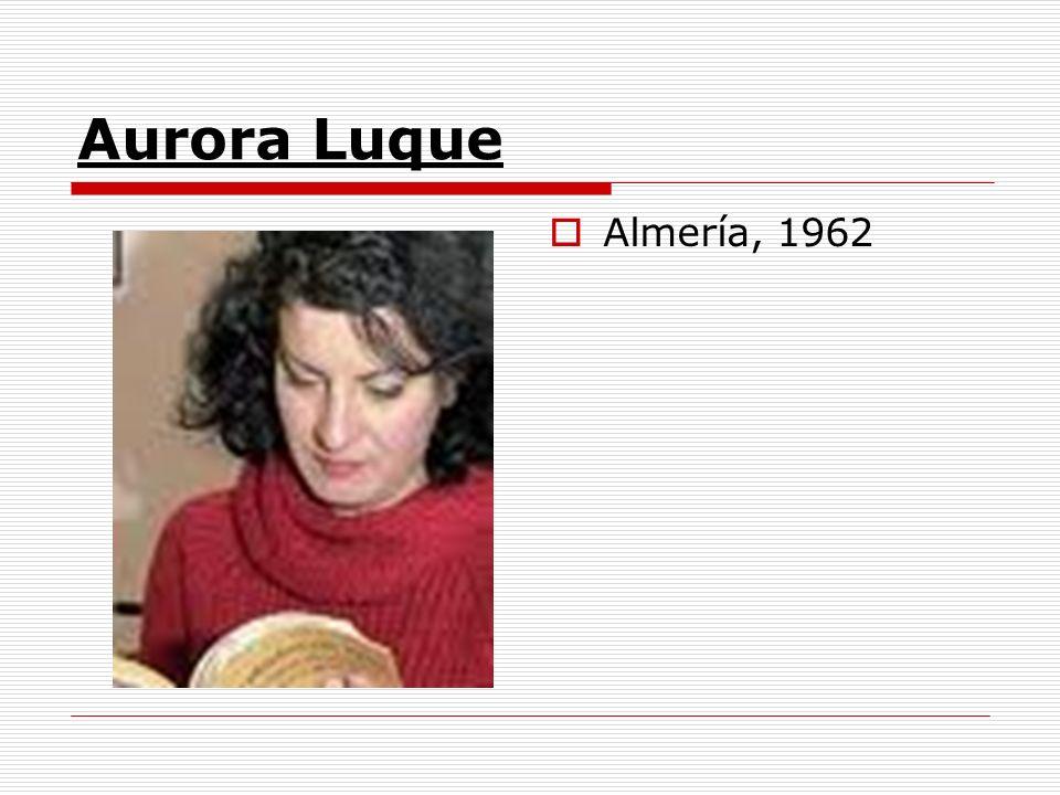 Aurora Luque Almería, 1962
