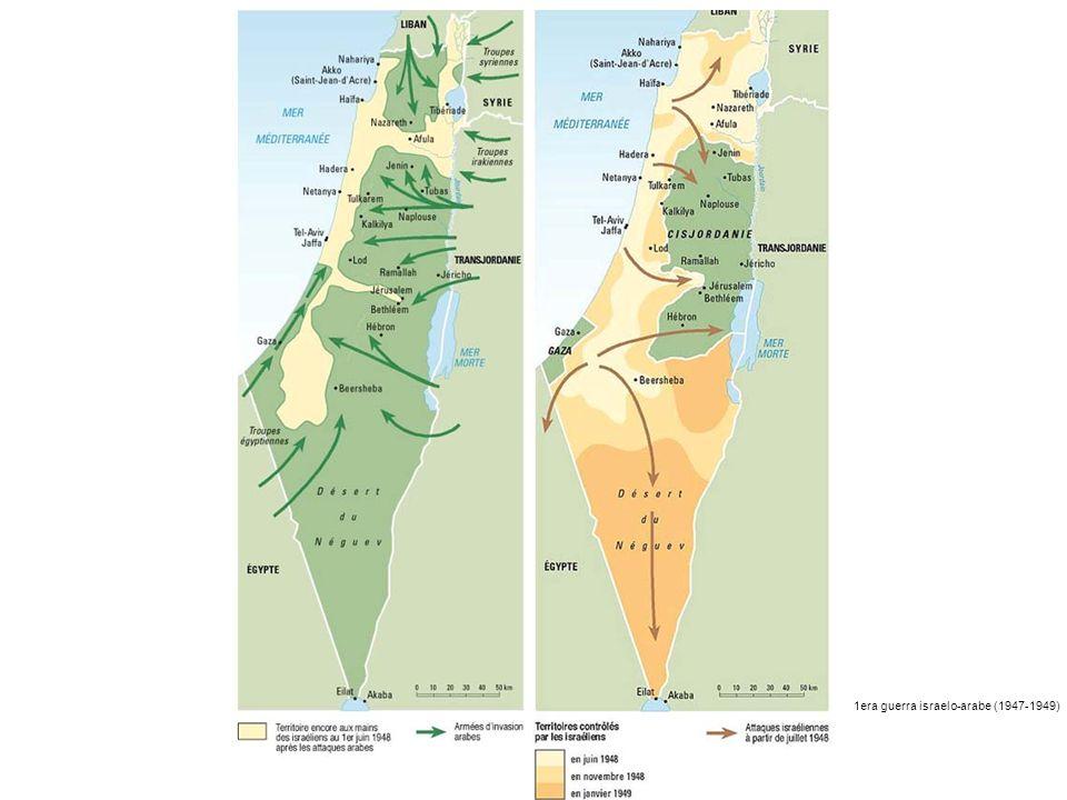 1era guerra israelo-arabe (1947-1949)