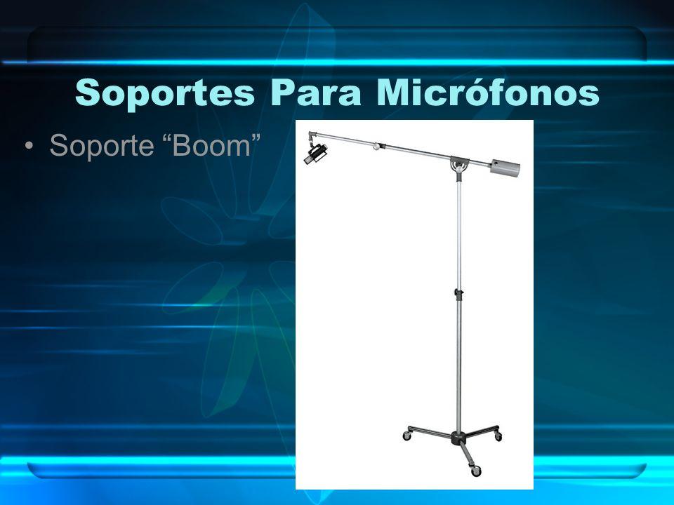 Soportes Para Micrófonos Soporte Boom