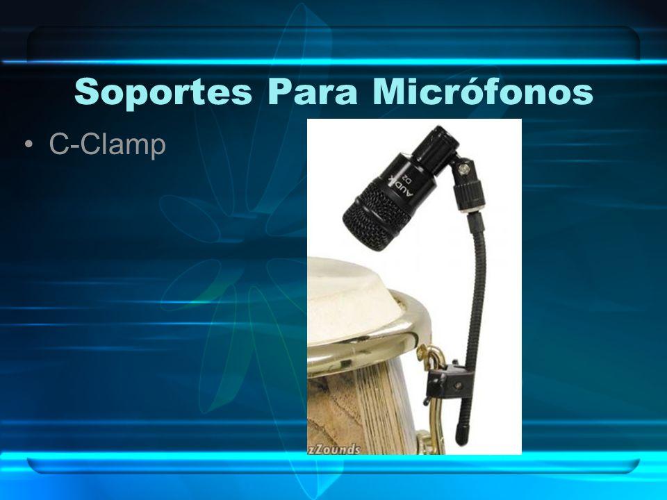 Soportes Para Micrófonos C-Clamp
