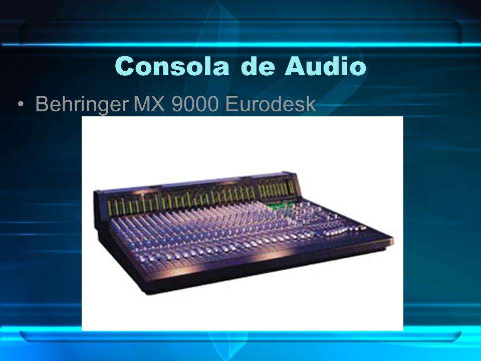 Consola de Audio Behringer MX 9000 Eurodesk