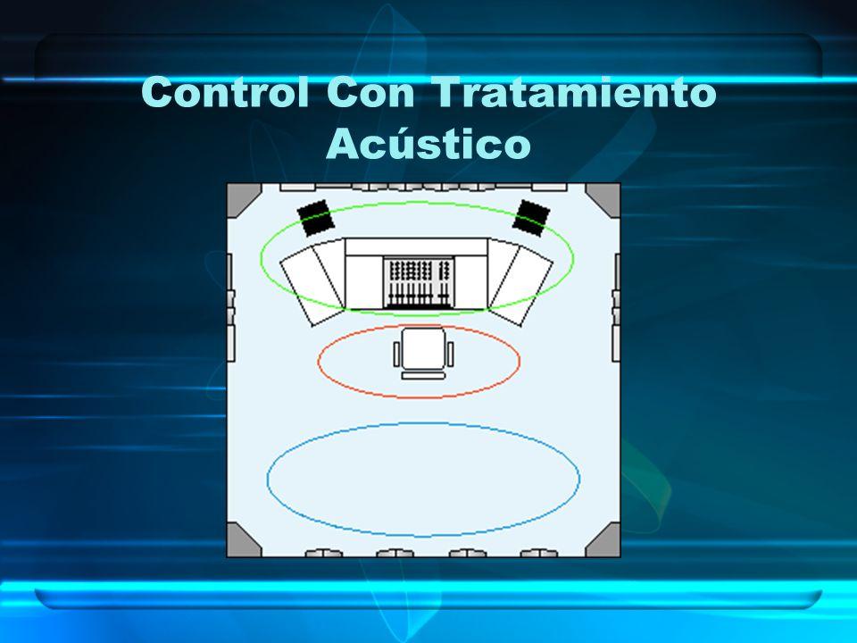 Control Con Tratamiento Acústico