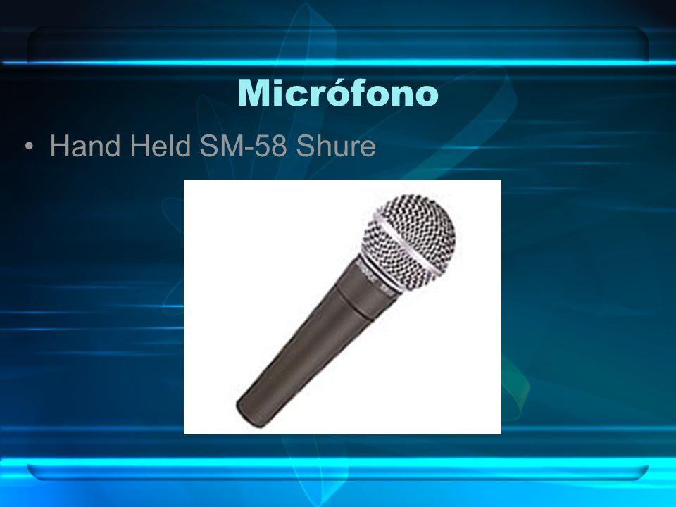 Micrófono Hand Held SM-58 Shure