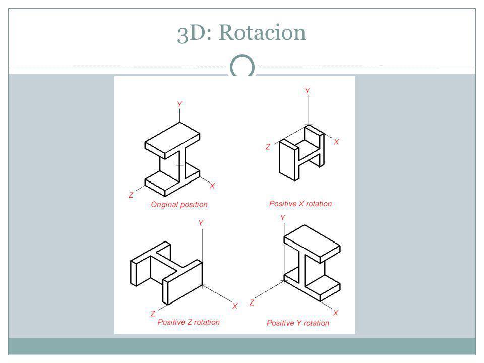 3D: Rotacion