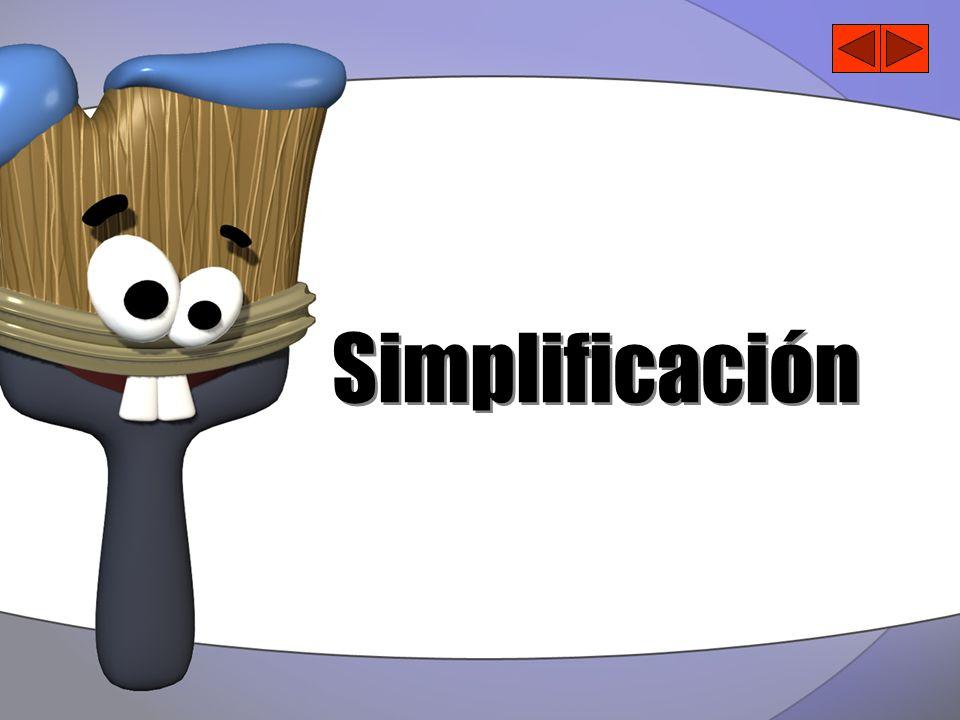 Simplificación