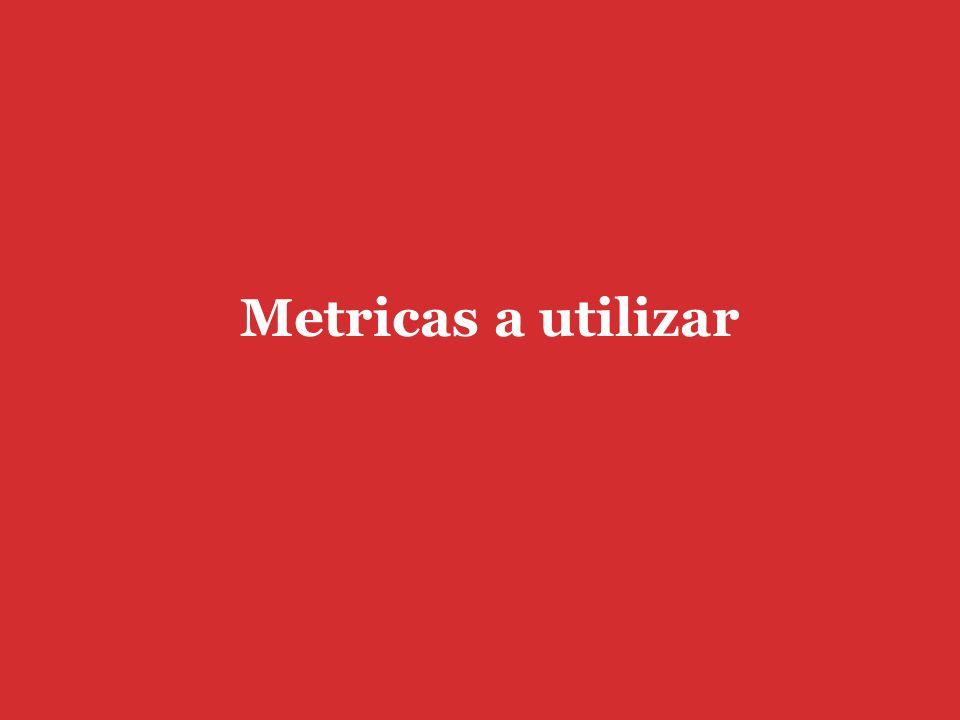 Metricas a utilizar