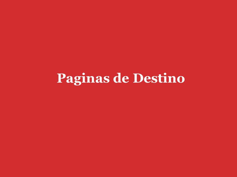 Paginas de Destino