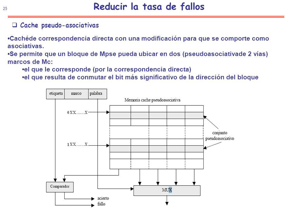 26 Reducir la tasa de fallos Idea Ocultar la latencia de un fallo de cache solapándolo con otras instrucciones independientes ADDR5,R6,R6 …………………..