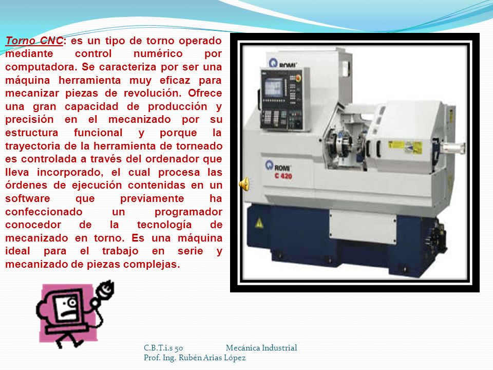 C.B.T.i.s 50 Mecánica Industrial Prof.Ing.