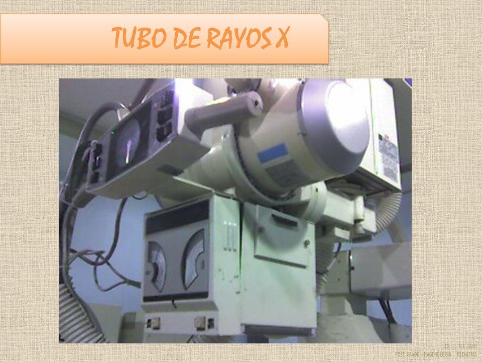 DR. J. YEE GUIM POST GRADO IMAGENOLOGIA - PEDIATRIA TUBO DE RAYOS X