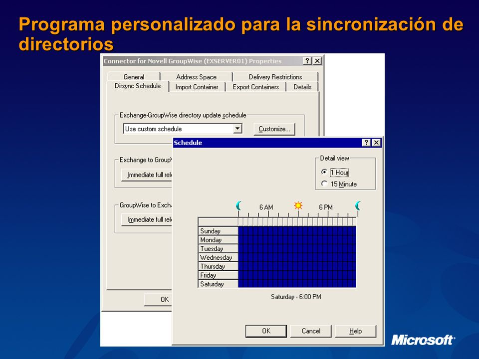 Programa personalizado para la sincronización de directorios