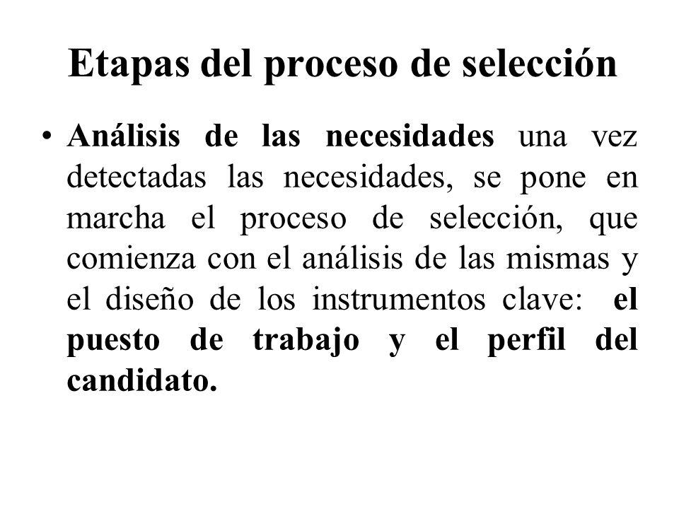 La selección de personal implica tres modelos de comportamiento: a) Modelo de colocación.