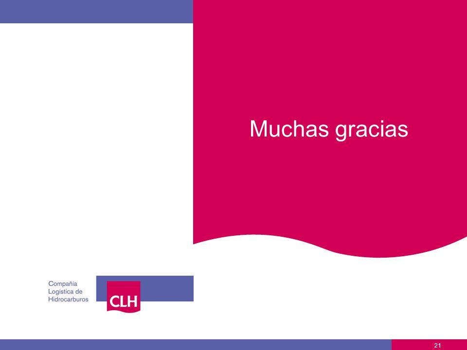 21 Muchas gracias