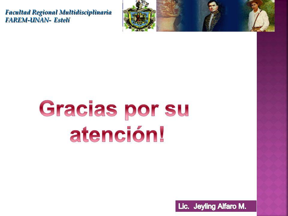 Facultad Regional Multidisciplinaria FAREM-UNAN- Estelí