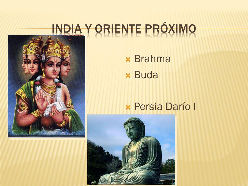 Brahma Buda Persia Darío I
