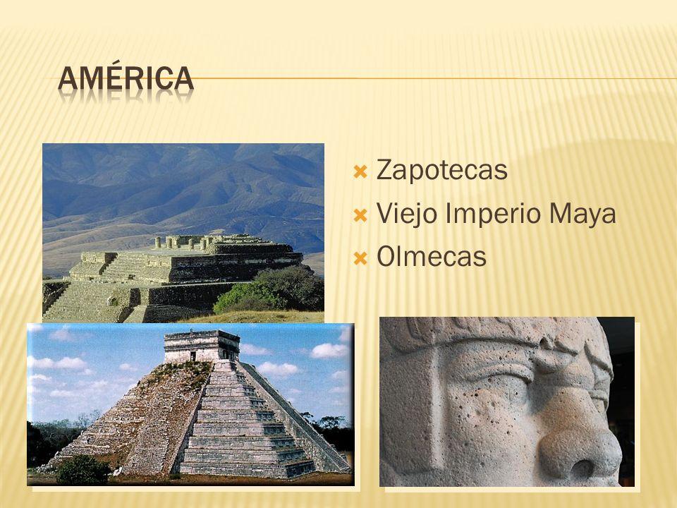 Zapotecas Viejo Imperio Maya Olmecas