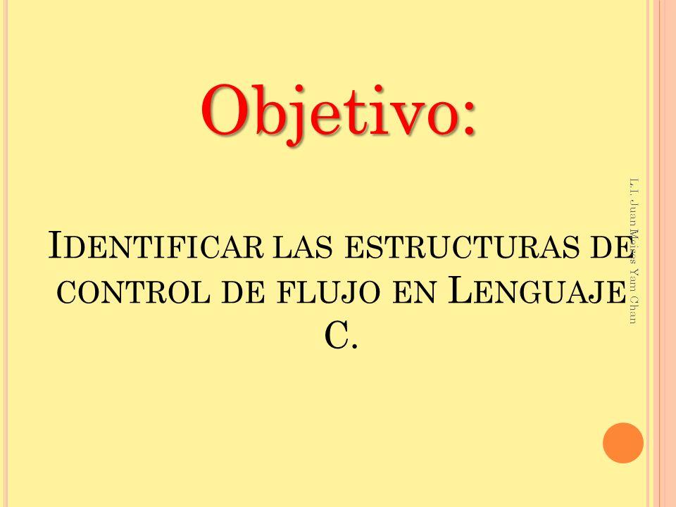 #include int usuario, clave; void main() { clave=13406; printf( Introduce tu clave: ); scanf( %d ,&usuario); if(usuario==clave) { printf( Acceso permitido ); } getch( ); } Ejemplo if L.I.