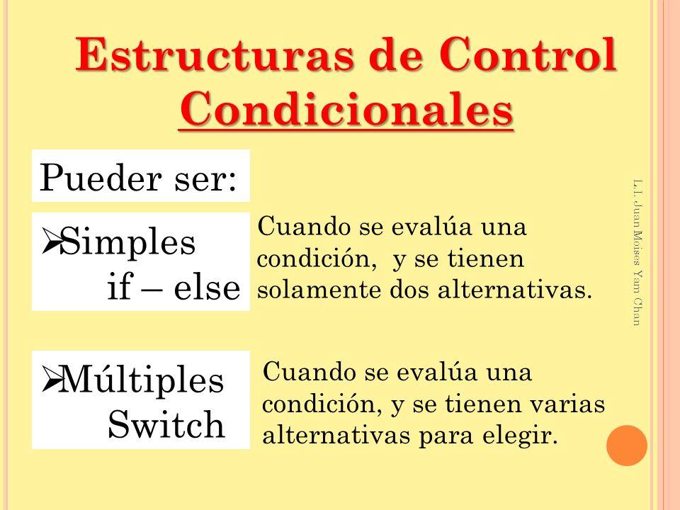 #include <stdio.h> #include <conio.h> int num1, num2; main() { clrscr(); printf( Teclea un valor entero: ); scanf( %i ,&num1); printf( Teclea otro número entero: ); scanf( %i ,&num2); if (num1==num2) printf( %i es igual a %i ,num1,num2); if (num1>num2) printf( %i es mayor que %i ,num1,num2); if (num1<num2) printf( %i es menor que %i ,num1,num2); getch(); } Ejemplo if Cuando se trata de un solo enunciado dentro del if o else no es necesario poner las llaves.