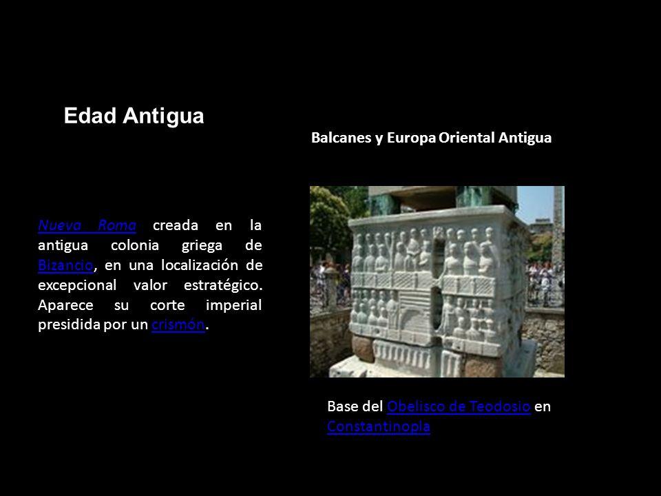 Edad Antigua Balcanes y Europa Oriental Antigua Base del Obelisco de Teodosio en ConstantinoplaObelisco de Teodosio Constantinopla Nueva RomaNueva Rom