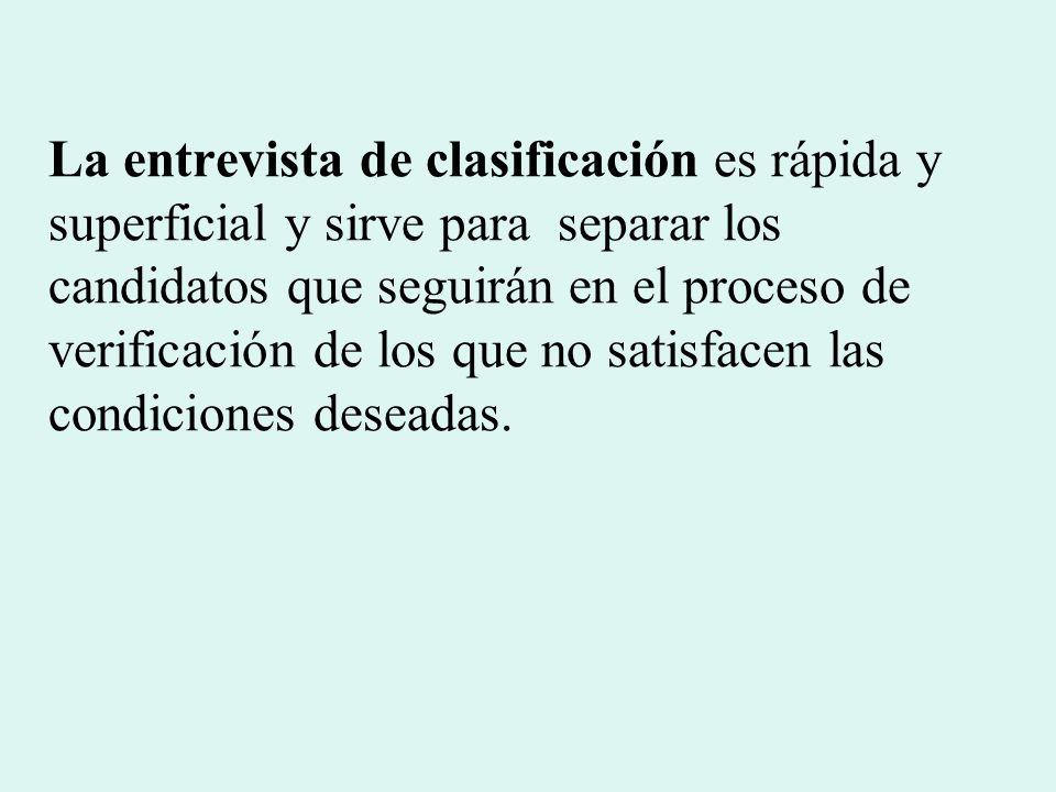 TIPOS DE ENTREVISTAS Dirigida.