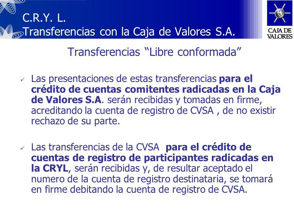 I.- Canalizadas por la Secretaría de Hacienda y la de Finanzas, a los efectos de la liquidación y el registro de las colocaciones primarias de IEP, su