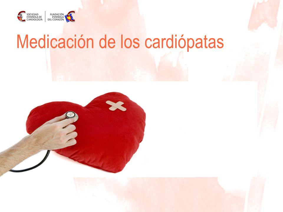 www.fundaciondelcorazon.com Disminuyen la frecuencia cardiaca y la tensión arterial= El corazón trabaja menos y mejor Hipertensión arterial Medicamentos BETABLOQUEANTES AtenololBisoprololCarvedilol