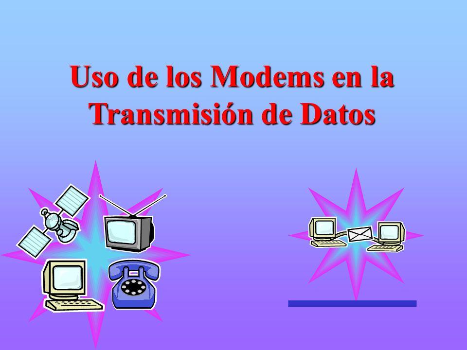 Los comandos pueden ser enviados al Modem desde el teclado del terminal o por el S/W de comunicación.