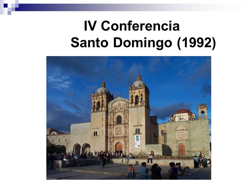 IV Conferencia Santo Domingo (1992)