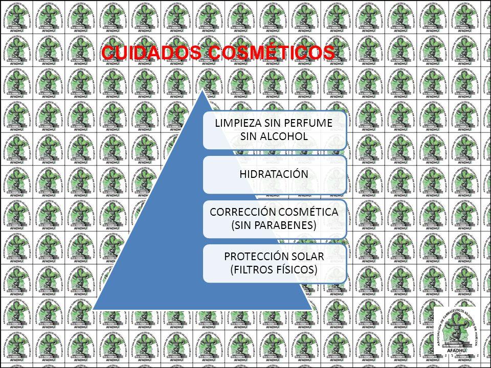 LIMPIEZA SIN PERFUME SIN ALCOHOL HIDRATACIÓN CORRECCIÓN COSMÉTICA (SIN PARABENES) PROTECCIÓN SOLAR (FILTROS FÍSICOS) CUIDADOS COSMÉTICOS 31