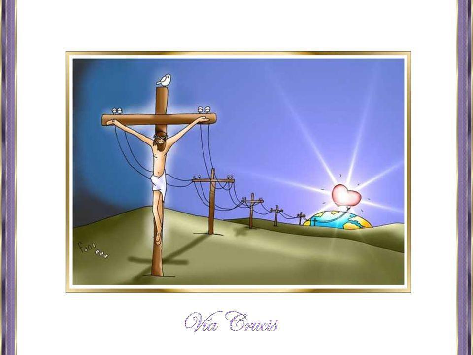 El poder y el pecado taladran sus manos, el poder y el pecado crucifican a los crucificados...
