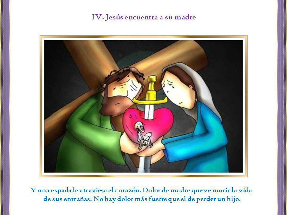 Una iglesia cirenea, movida por el espíritu, soportando la carga de los crucificados, alegrando el rostro de Cristo.