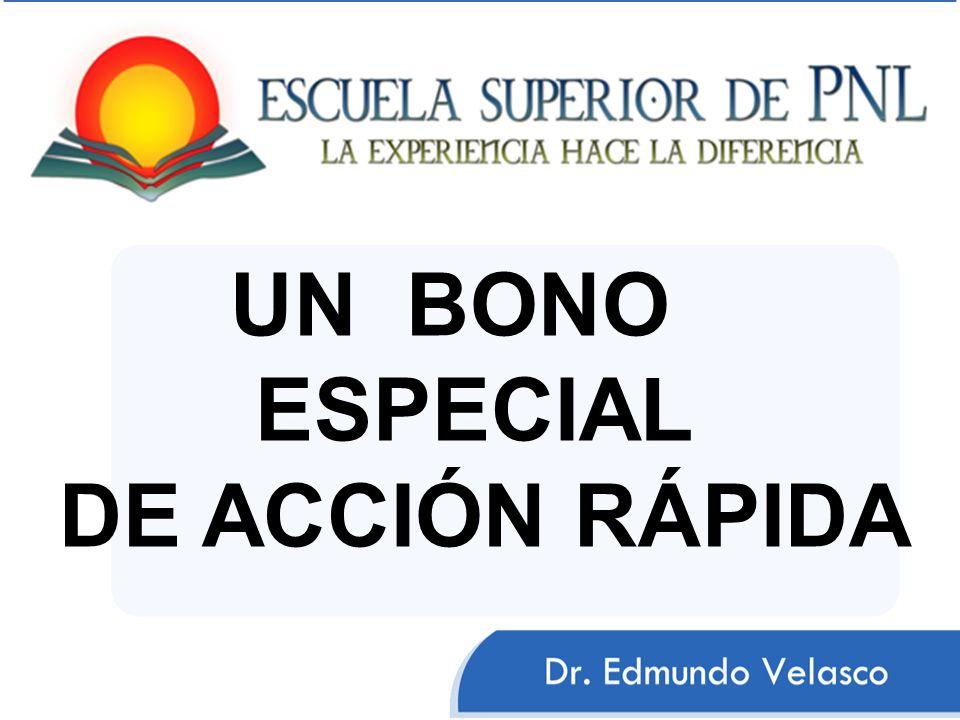 UN BONO ESPECIAL DE ACCIÓN RÁPIDA