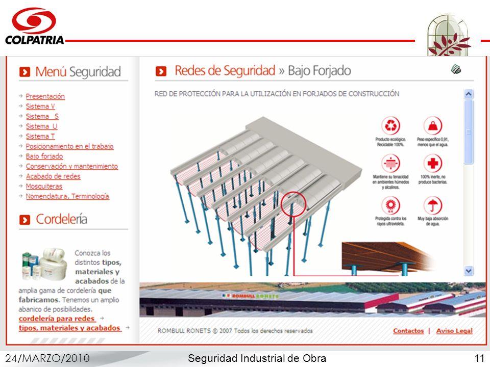 Seguridad Industrial de Obra 24/MARZO/2010 11