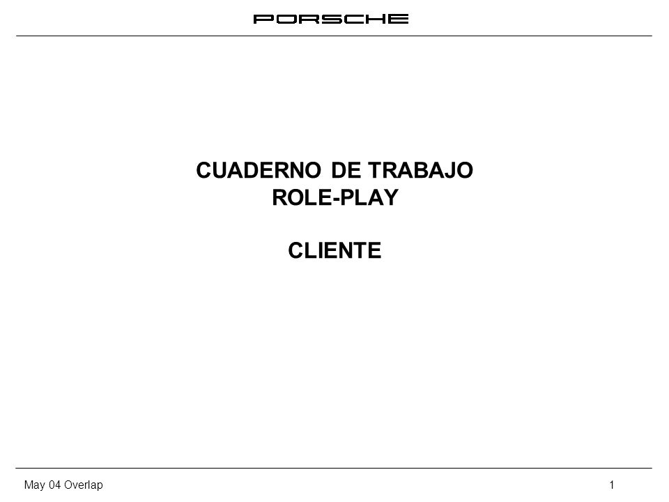 May 04 Overlap1 CUADERNO DE TRABAJO ROLE-PLAY CLIENTE