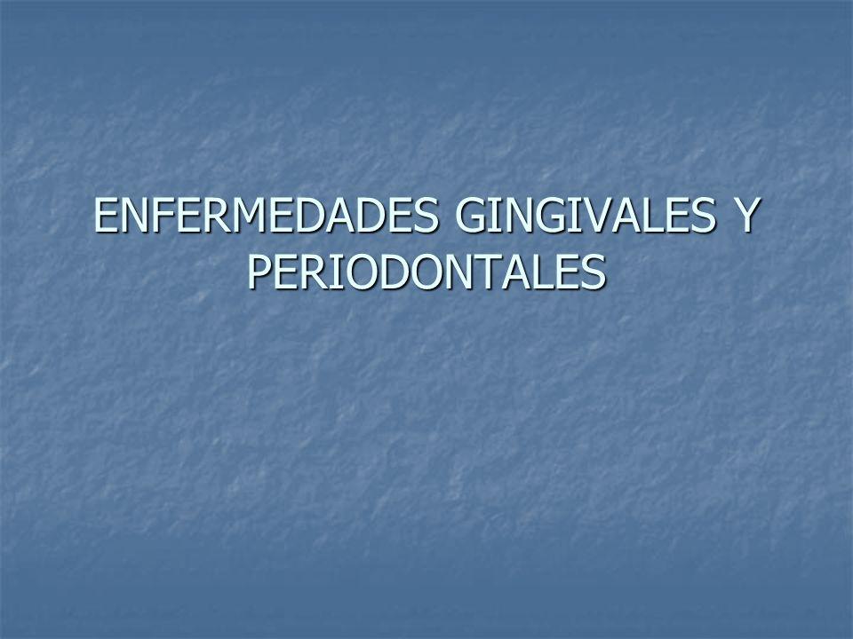 Periodontitis Úlcero Necrotizante (PUN) Tiene las mismas características clínicas y etiológicas que la GUN pero también presenta pérdida de adherencia y del tejido de óseo.