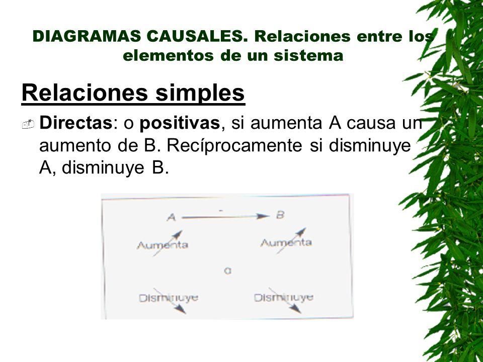 DIAGRAMAS CAUSALES.
