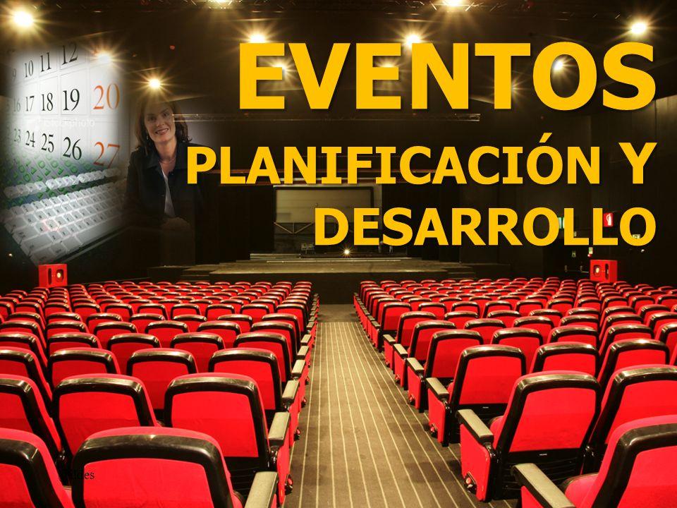 Definición: Eventos @ildes Eventos son personas Eventos son personas reunidas en un solo lugar, en una fecha determinada, y que tienen los mismos objetivos.