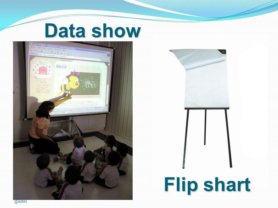 Data show Flip shart @ildes