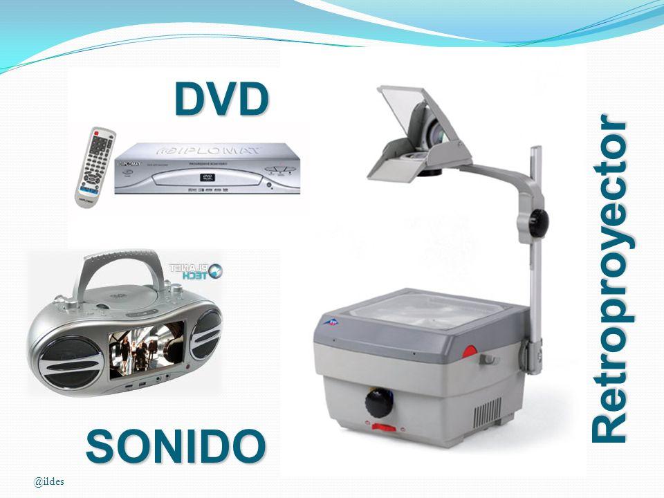 Retroproyector DVD SONIDO