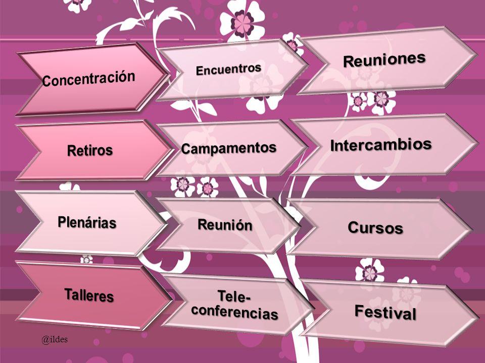 30) Comunicación Interna (la iglesia cuando el evento se celebrará en los locales).