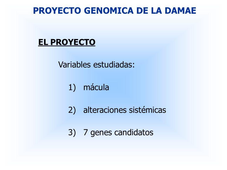 RESULTADOS PRELIMINARES ALTERACIONES GENETICAS 4)ECA (enzima conversora de la angiotensina).