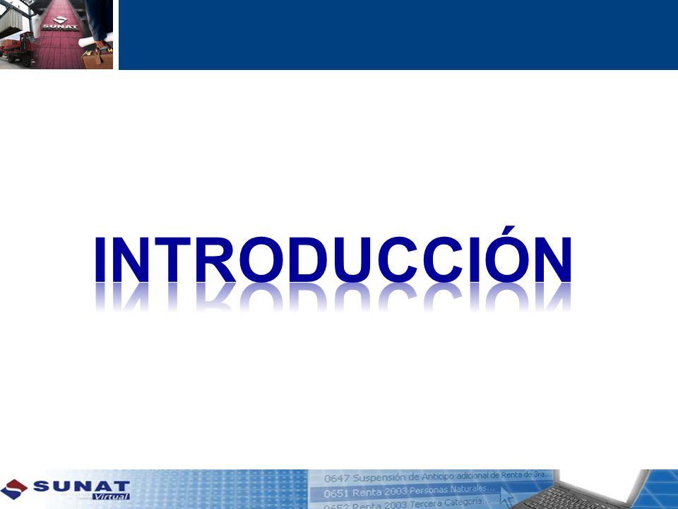 1.Principales Contribuyentes La incorporación es obligatoria a partir del 01.01.2013.
