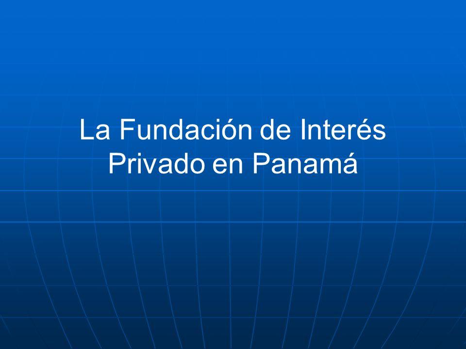 FUNDACIONES DE INTERES PRIVADO Instrumento de planificaci ó n patrimonial y para fines hereditarios.