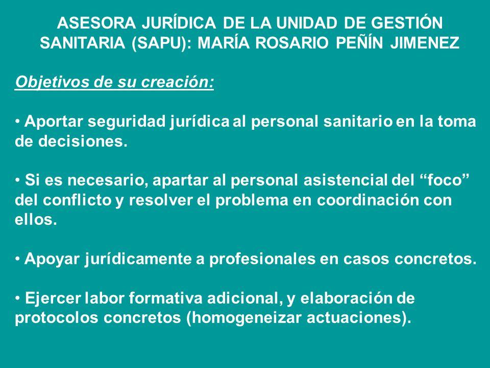 ASPECTOS JURIDICOS DE LA ASISTENCIA SANITARIA CONSENTIMIENTO INFORMADO (Ley 41/2002, de 14 de noviembre, básica reguladora de la autonomía del pacient