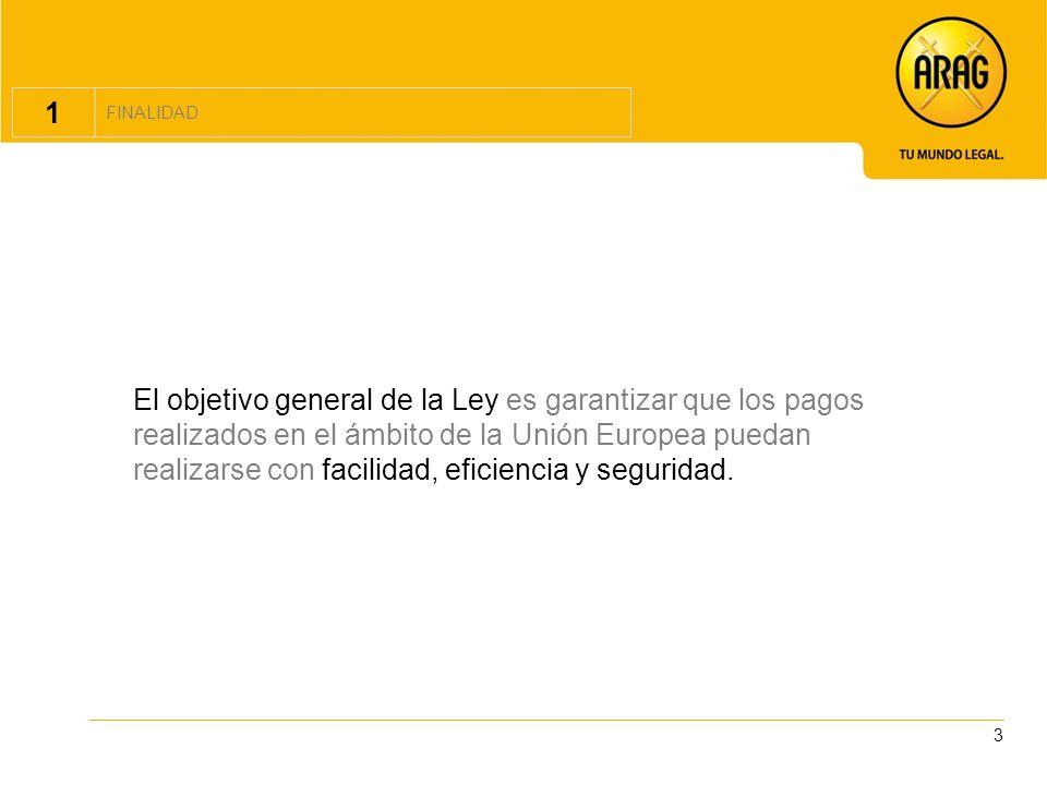 4 2 ENTIDAD DE PAGO Las nuevas entidades de pago.