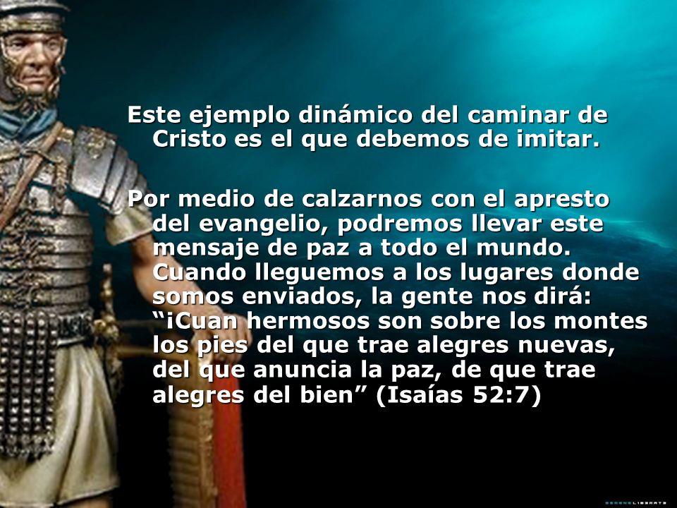 Los cristianos que han experimentado en su corazón la paz de Dios, están listos, con prontitud a llevar el evangelio a los que están esclavos de Satanás.