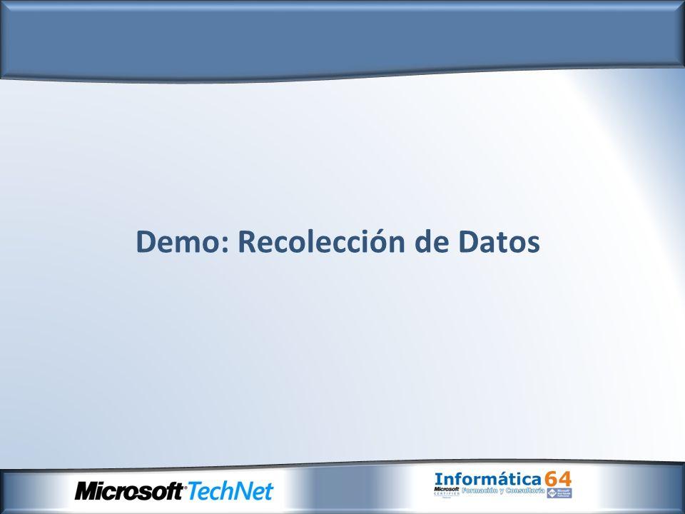 Demo: Recolección de Datos