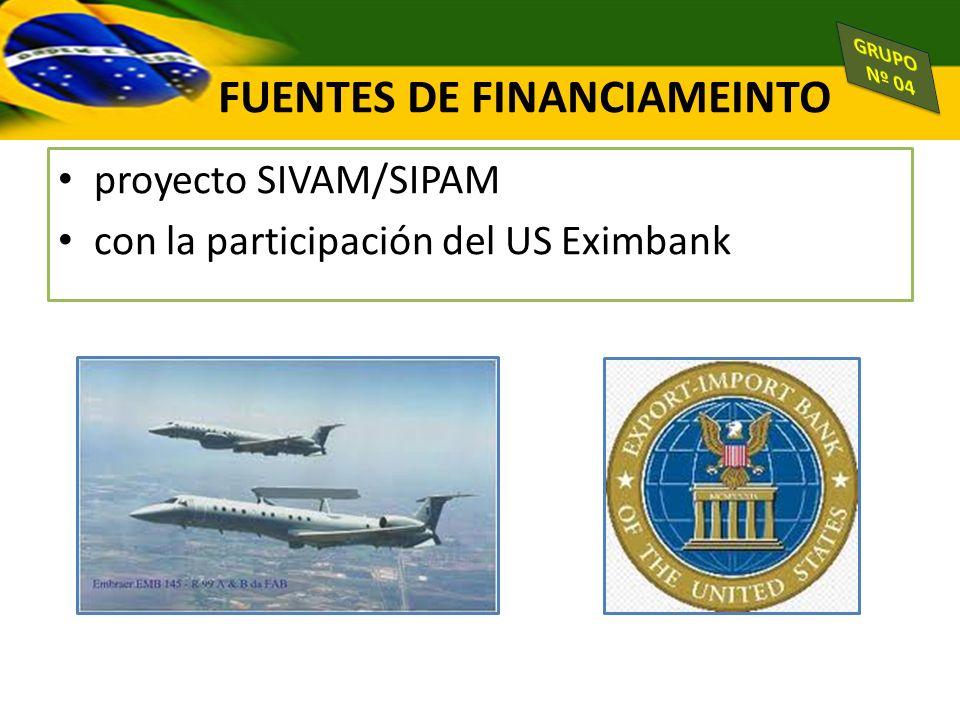 proyecto SIVAM/SIPAM con la participación del US Eximbank FUENTES DE FINANCIAMEINTO