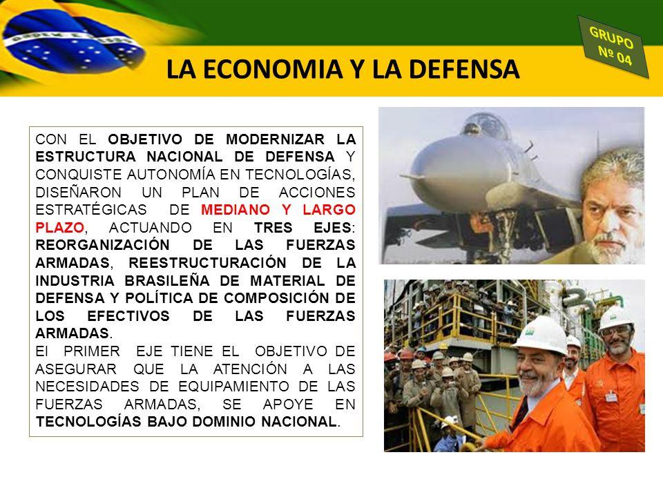 EMBRAER ECONOMÍA MIXTA ESTÁ DIRECTAMENTE INVOLUCRADA CON LA ESTRATEGIA NACIONAL DE DEFENSA DEL BRASIL.
