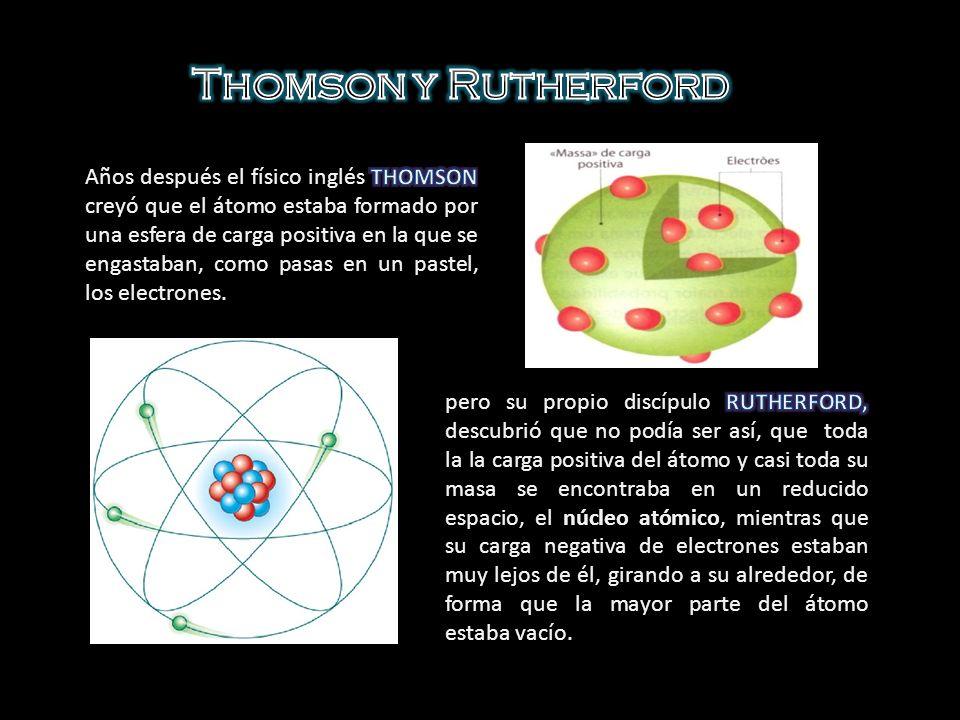 Niels Bohr se basó en el átomo de hidrógeno para realizar el modelo que lleva su nombre.